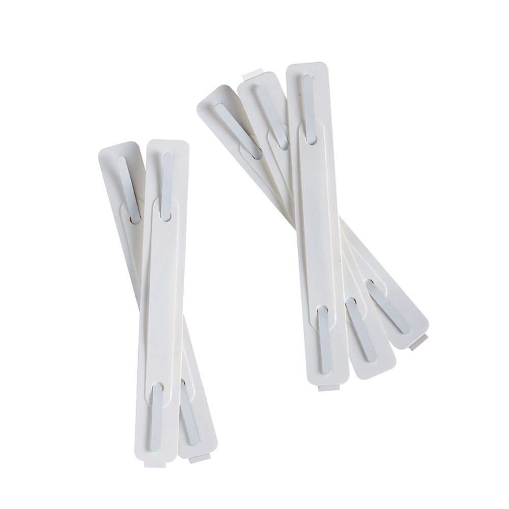 Twin Clips PVC Self-Adhesive x100