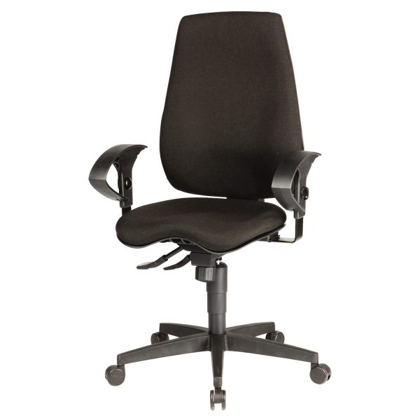 Ergonomic Chair RS Pro Eiger - Black Fabric 1