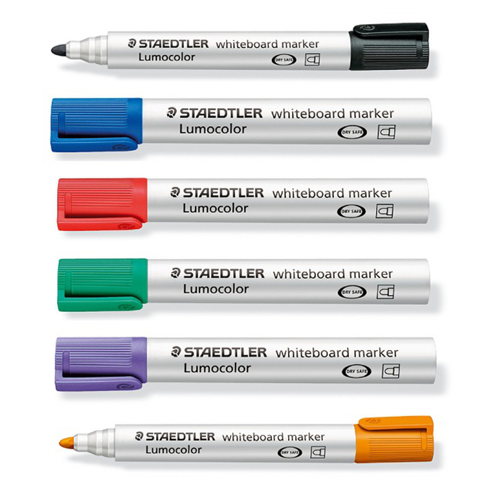 Staedtler Whiteboard Marker Bullet Tip Orange