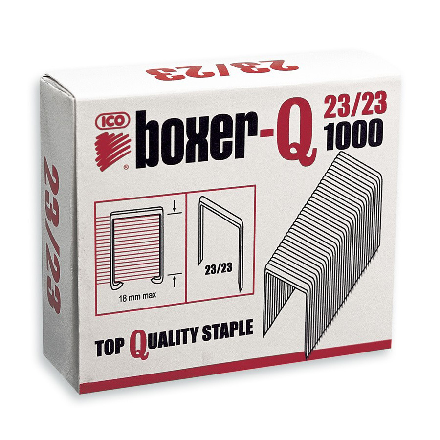 Staples no. 9(23) 23mm ICO x1000 200-240 sheets