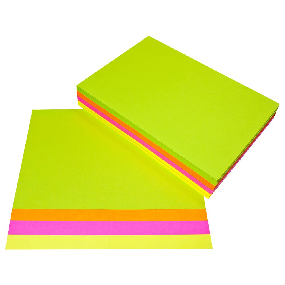 A4 Mixed Bright Coloured Paper 80gsm x 500 sheets