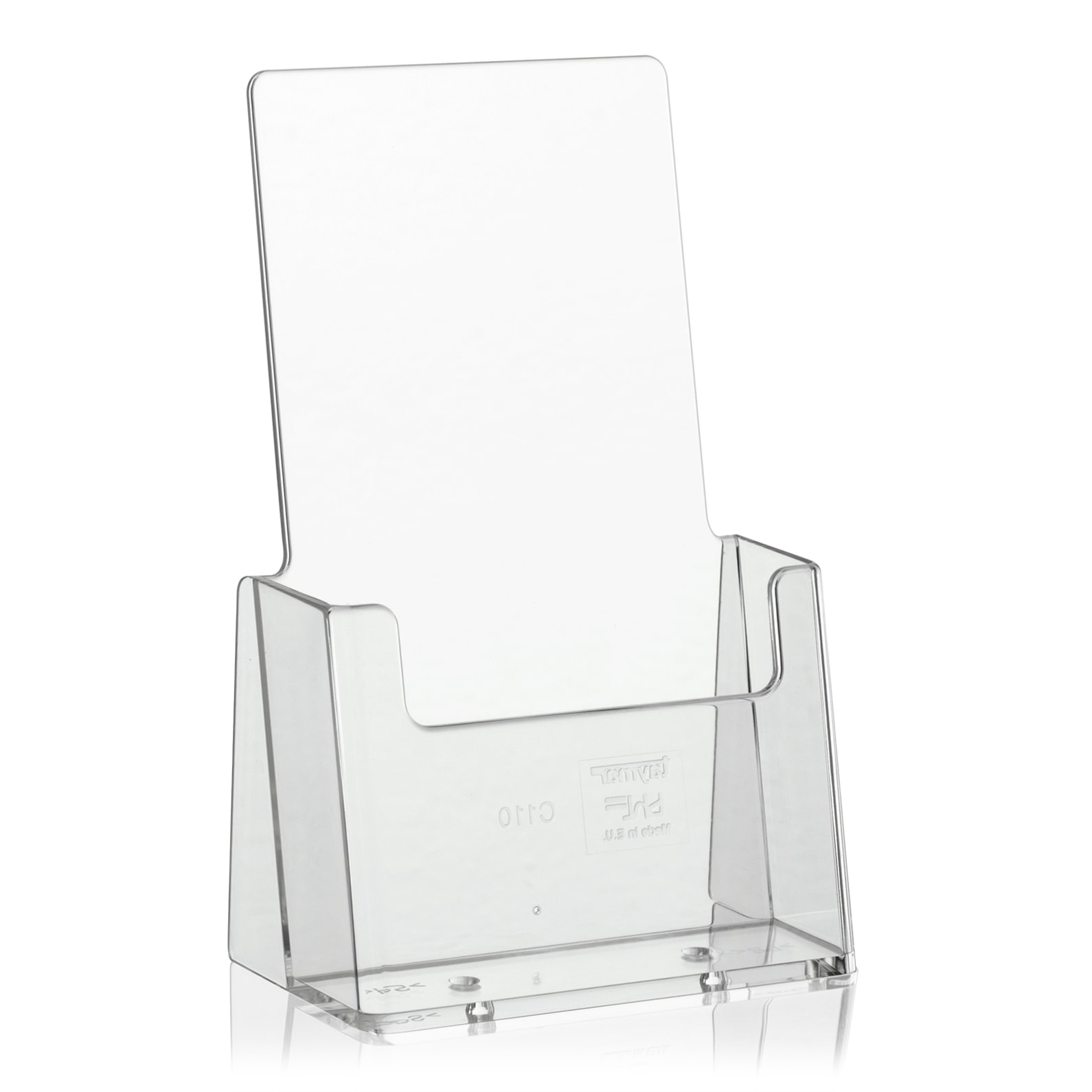 Brochure Holder ? of A4 Desk Type x 1 Compartment