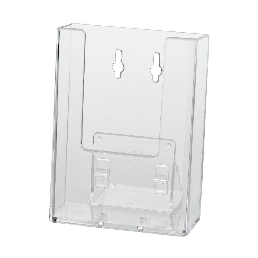 Brochure Holder ? of A4 Wall Mount x 1 Compartment