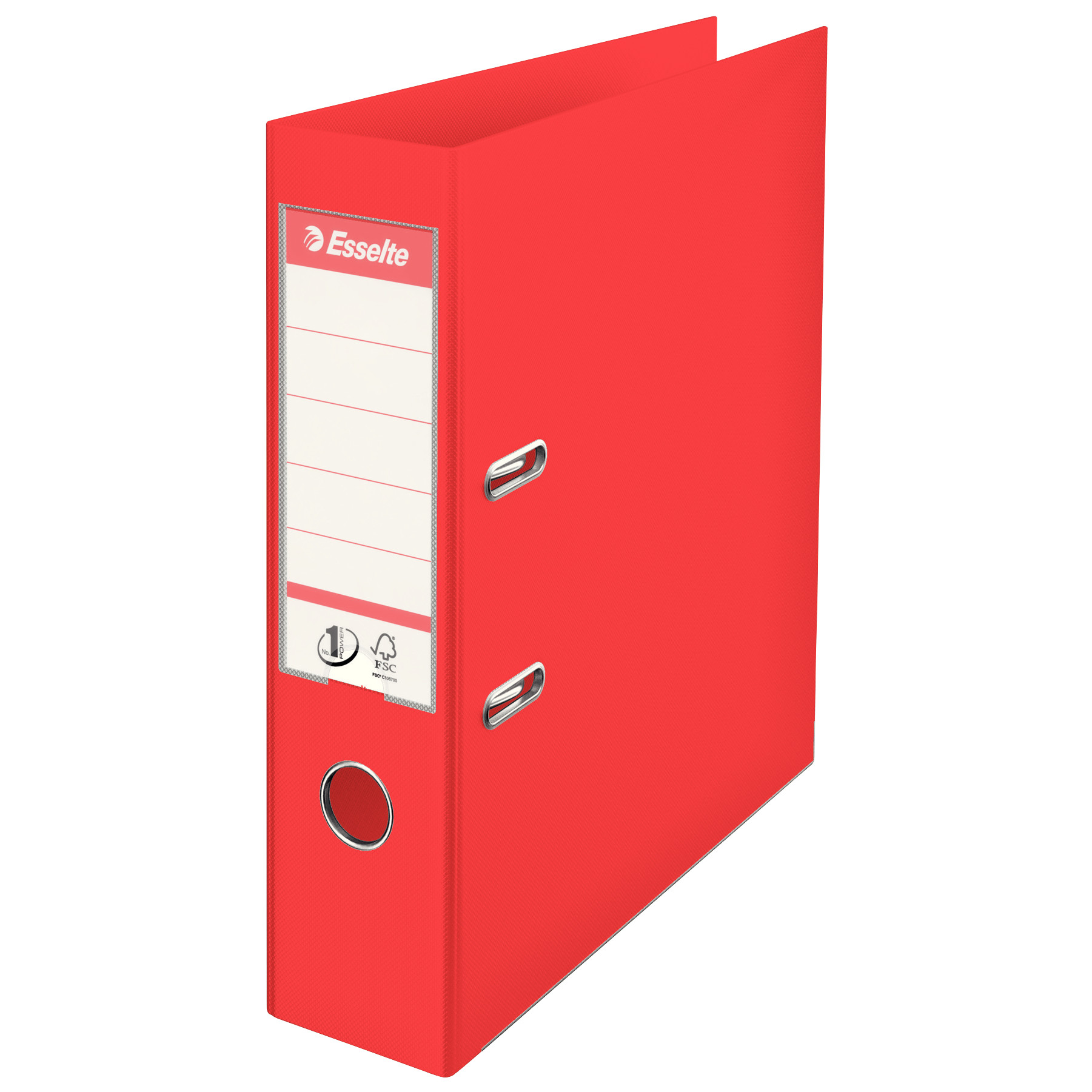 "Esselte Lever Arch File 3"" Spine A4 (8-32) - Red"