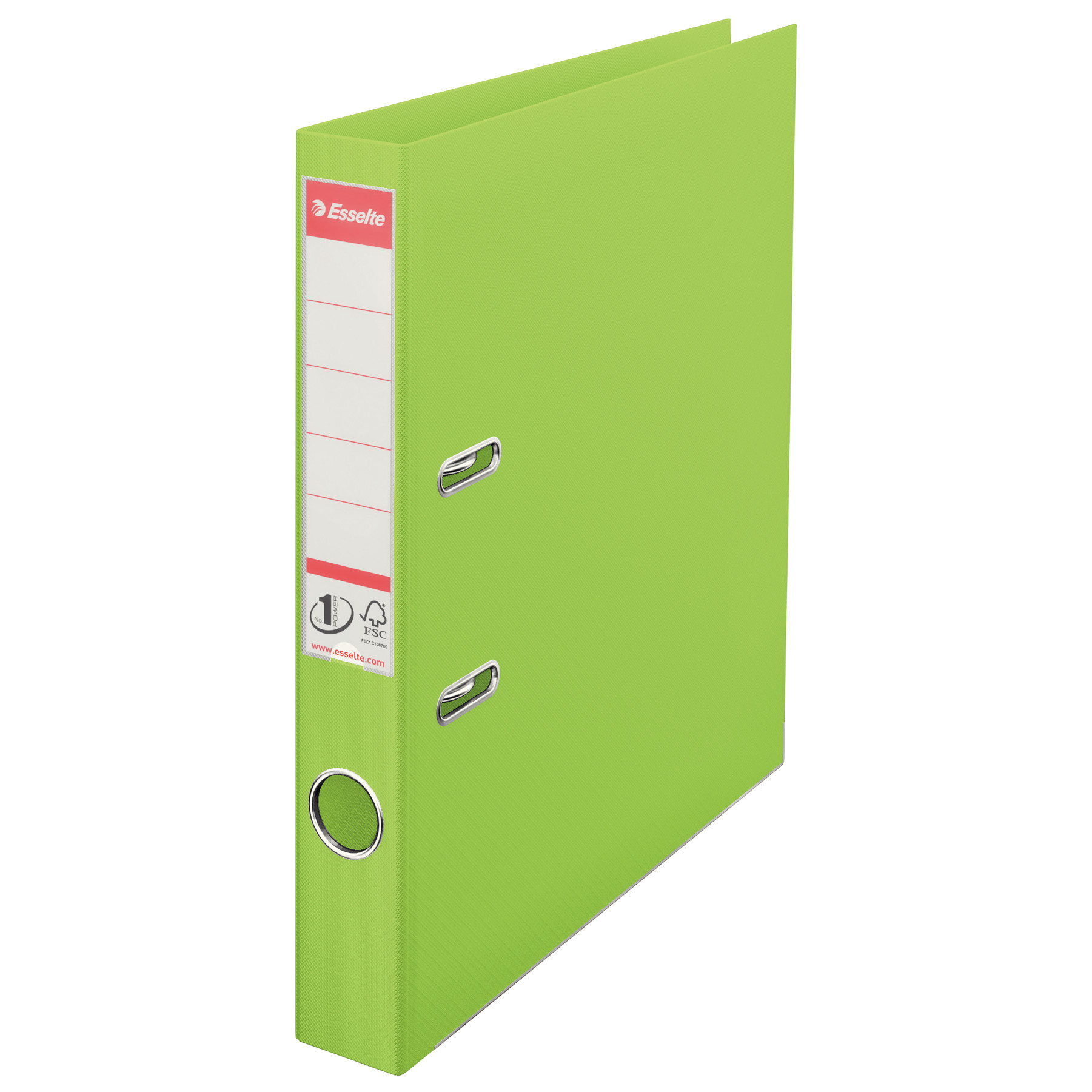 "Esselte Lever Arch File 1.5"" Spine A4 (4-32) - Lime Green"