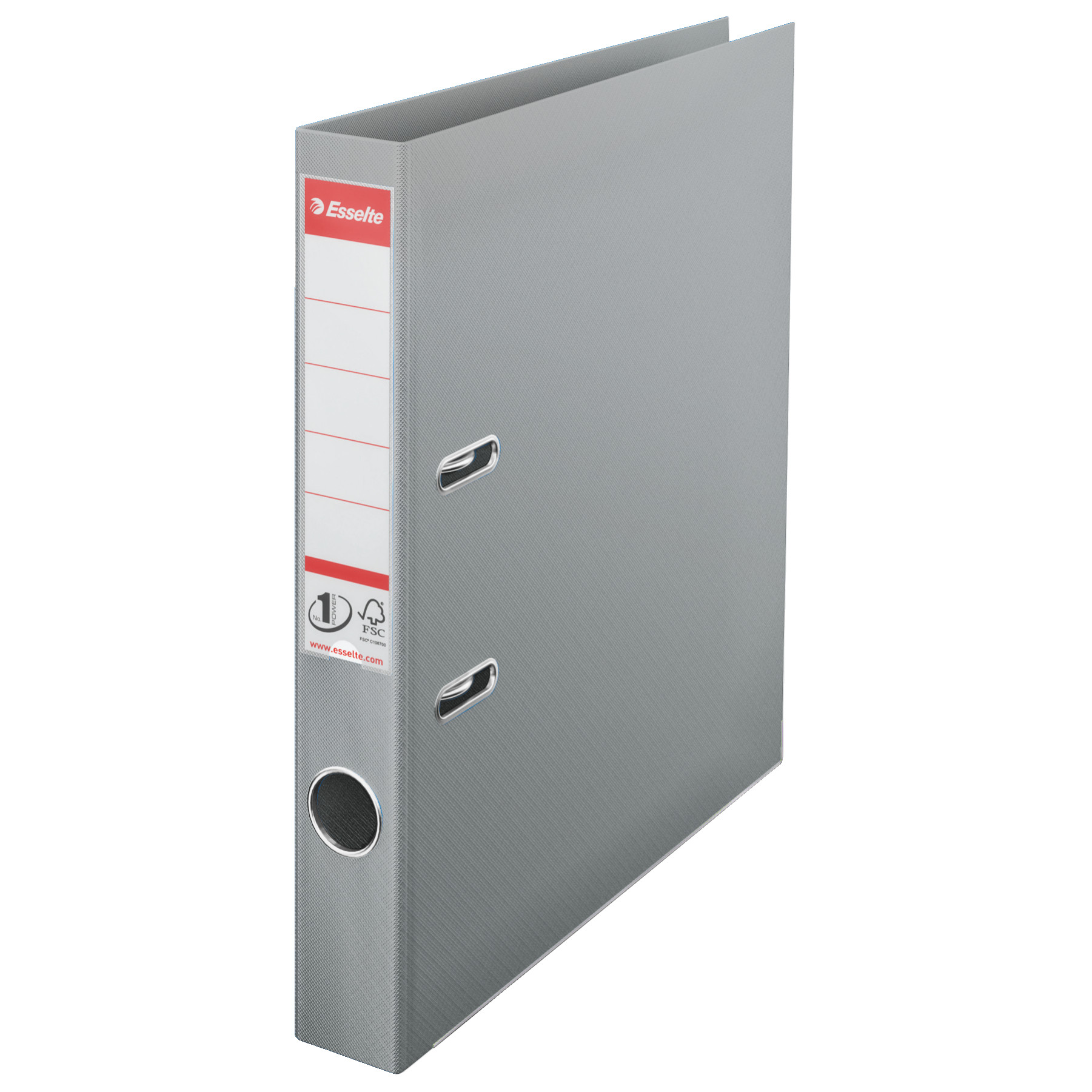 "Esselte Lever Arch File 1.5"" Spine A4 (4-32) - Grey"