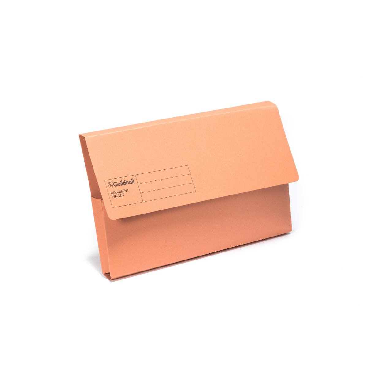 Document Wallet Carton - Orange