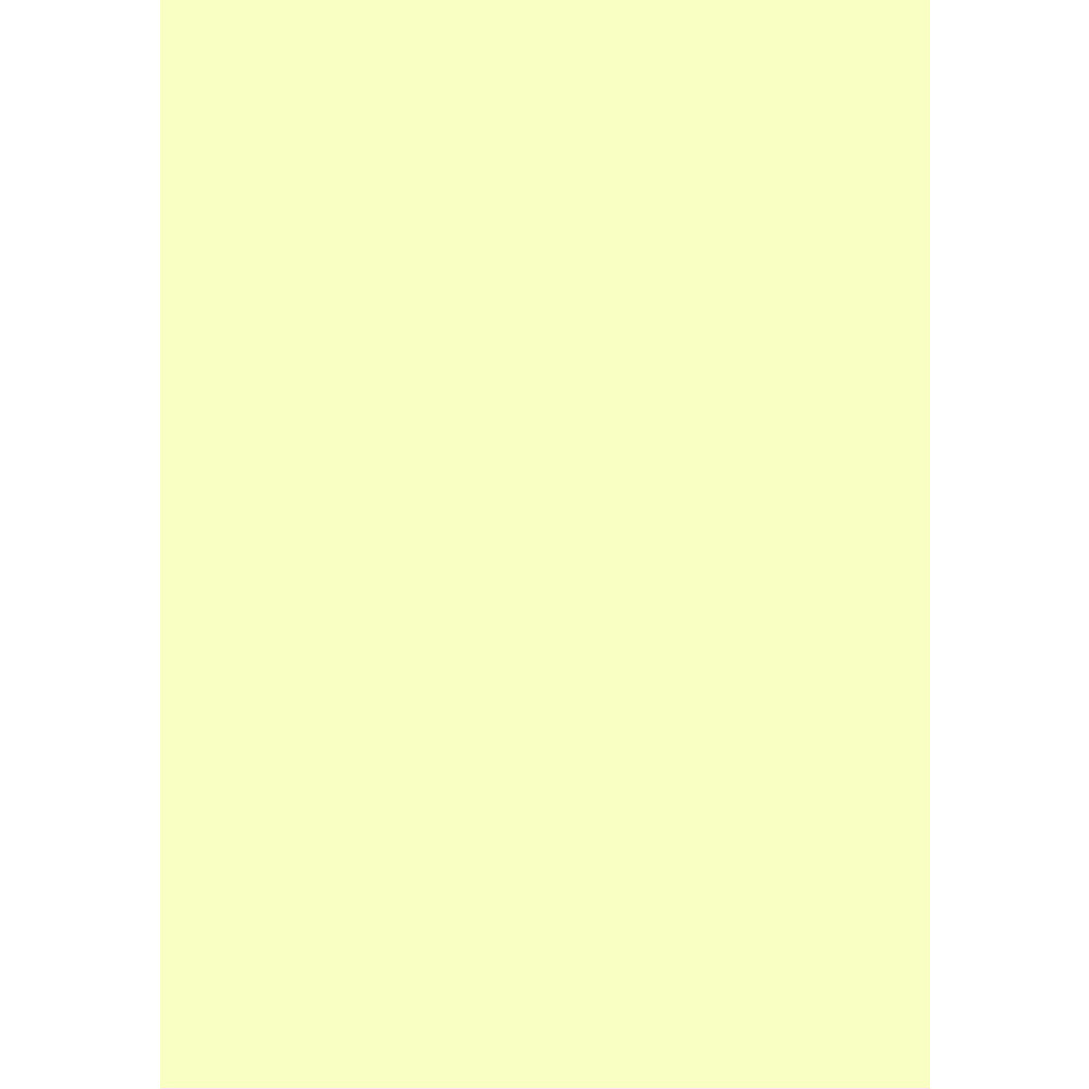 A4 Light Yellow Paper 80gsm x 500 sheets