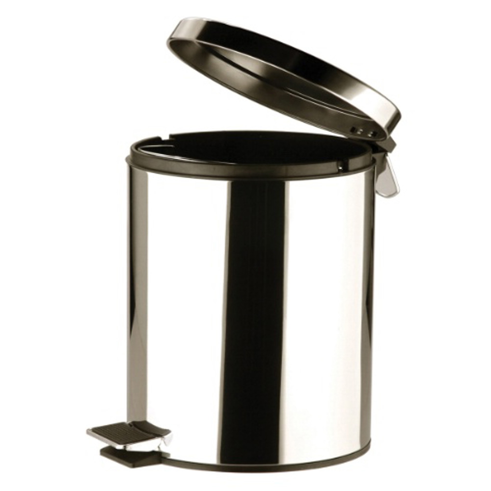 Stainless Steel Bin with Pedal 5ltr