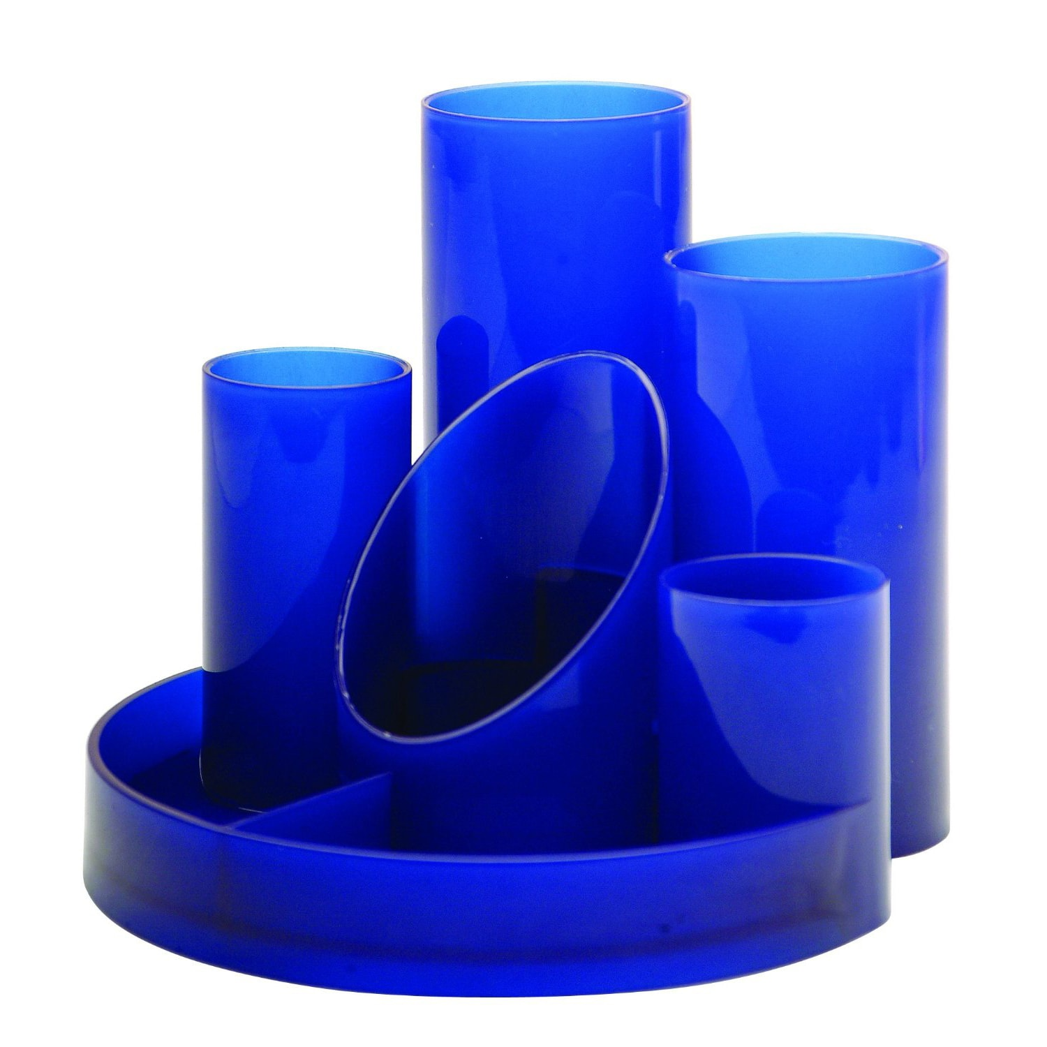 Desk Tidy Helix Blue