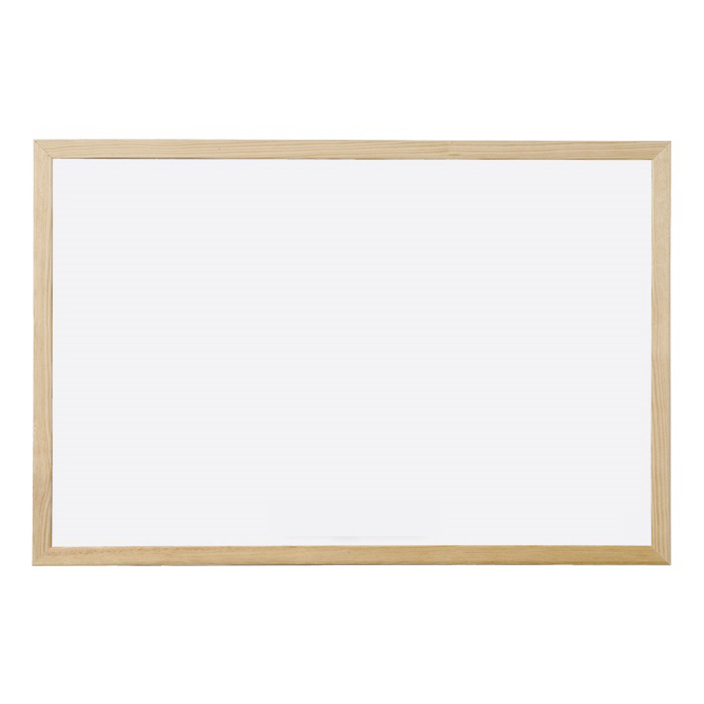 Whiteboard Non-Magnetic Wooden Frame 30 x 40cm | Complete Supplies